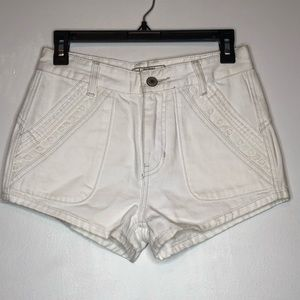 Free People Sweet Surrender High Rise Jean Shorts